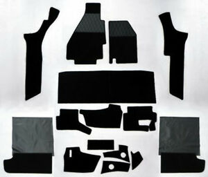 Black Velours Carpet Set for Ferrari 308 GTB 1975-1984