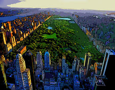 New York City Central Park #2 Pop Art Canvas 16 x 20   #6991