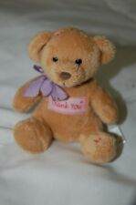 Russ Berrie Thank You Keychain Plush Bear