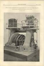 1900 Galloways Electricity Generating Plant Paris Exhibition