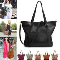 Womens Extra Large Handbags Ladies Shoulder Designer Bag Oversized Faux Leather