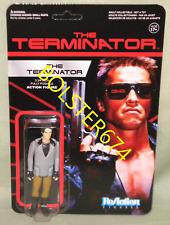 "T-800 TERMINATOR Veste en cuir THE TERMINATOR 3 3//4/"" Reaction Retro Figure 2014"