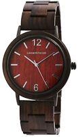Leonardo Verrelli Damenuhr Braun Holz Analog Quarz Armbanduhr X1800190001