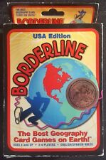 BORDERLINE USA Edition Vintage Geography Card Game