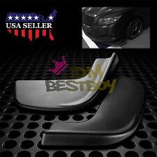 Universal Front Bumper Lip Splitter Spoiler Diffuser Black Urethane Body Kit S02