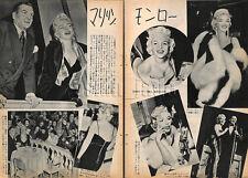 1956, Marilyn Monroe  Japan Vintage Clippings 2es5