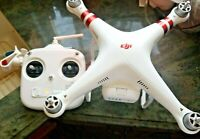 DJI Phantom 3 Standard QUADCOPTER Drone  for parts and or repair