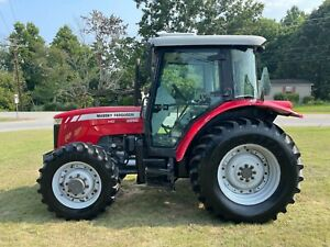 Massey Ferguson 2650 HD 4X4 Cab Tractor with 5457 Hours