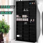 1116 CD Storage Shelf Rack DVD Media Cupboard Shelving Stand Bookshelf Bluray