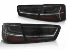 DTS LED light Bar Tail rear lights Set FOR Audi A6 C7 Sedan 11-14 smoked color