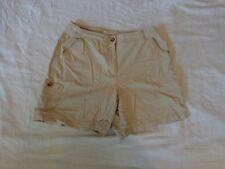 CHARTER CLUB Low Rise Beige Tan Women's Casual Cargo Shorts - Size 8P DEAL!