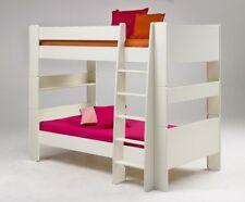Steens Etagenbett Weiß : Weiße kinder bettgestelle ohne matratze aus holzfurnier günstig