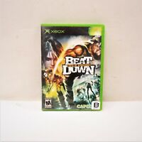 Beat Down Fists of Vengeance (Microsoft Xbox 2005) (QW)
