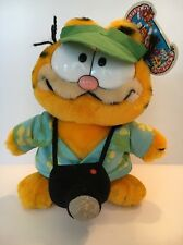 Garfield Tourist Dakin Plush, Vintage Collectable,  NWT