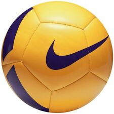 Fußball Nike Pitch Team SC3166 701 Gr. 4 gelb Fussball Ball Footbal;