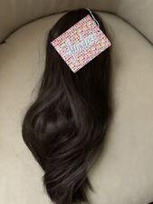 Flawless Hairuwear -by Danilo Sleek Chic Wrap Pony/ Hair Extension R6 Dark Brown