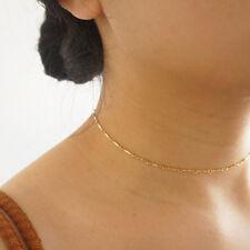 Gold Choker Necklace, Layering Choker, Gold Filled Chain, Minimalist handmade