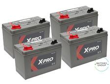 4x12V 110AH (C100) XV31MF ultradeepcycle ocio Numax Batería Reemplazo de X-Pro