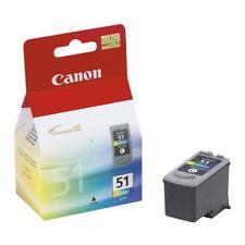 Canon -51 Standard Capacity - Color (Cyan, Magenta, Yellow) Ink Cartridge -BNIB