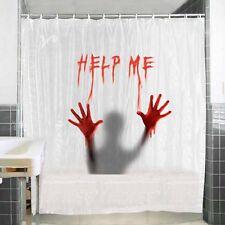 tenda per doccia help me impermeabile con anelli vasca da bagno 180x180 cm