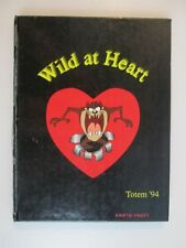 1994 Scottsburg High School  IN Indiana Yearbook Totem Wild At Heart Year Book