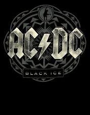 AC/DC cd cvr Angus Young BLACK ICE Official SHIRT XL New