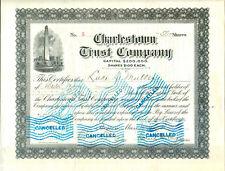 Charlestown Trust Company USA 1911-RAR -