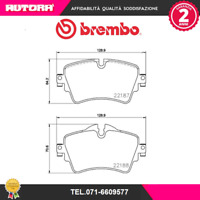 P06092 Kit pastiglie freno a disco ant Bmw-Mini (MARCA-BREMBO)