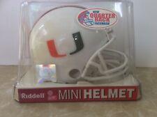 """Miami, 1984-present, """"A """", Collectible, Mini Helmet, Riddell"""