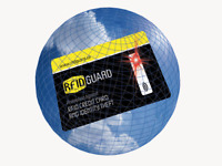 RFID Blocking Card Single Anti RFID Scanning Theft Credit Card Fits in Wallet