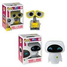 FUNKO POP Disney Pixar Movie Anime figure toys EVE & WALL-E Vinyl Action Figure