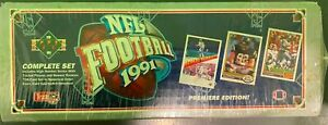 1991 Upper Deck NFL Football Premiere Edition Sealed Box of Cards