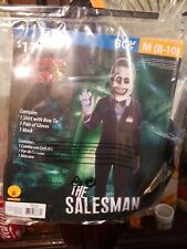 The Salesman Creepy Pasta boy costume Size: M (8-10) Medium