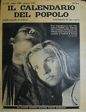 """"""" IL CALENDARIO DEL POPOLO N° 153 / GIU/1957 ANNO XIII° """""""