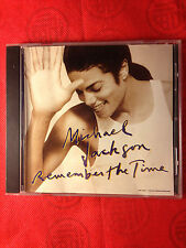 MICHAEL JACKSON - REMEMBER THE TIME / BLACK OR WHITE -  CD  SINGLE 9 TRACK