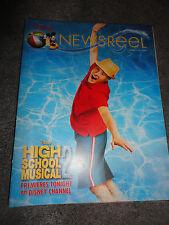 Disney Newsreel High School Musical 2 on Disney Channel August 17, 2007 New