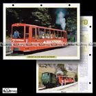 #096.11 Fiche Train HISTOIRE DU CHEMIN DE FER BRIENZ-ROTHORN depuis 1892 SUISSE