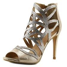Sandalias y chanclas de mujer de tacón alto (más que 7,5 cm) de color principal oro Talla 36.5