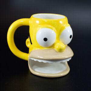 Homer Simpson 3D donut mug, Matt Groening 2005 - The Simpsons