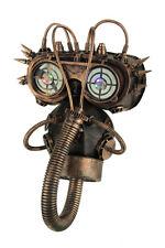 Halloween Steampunk Vintage LED Light Up Goggles Gas Mask