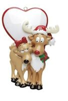 PERSONALIZED CHRISTMAS ORNAMENT BE MY DEAR ORNAMENT RUDOLPH AND ME