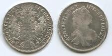 GB1236 - RDR Österreich ½ Taler 1759 Hall Tirol Silber Maria Theresia 1740-80