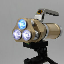 20000LM Rechargeable LED Tactical Flashlight T6 Spotlight Torch Lamp BRIGHT New