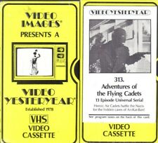 VHS:  2-VIDEO 13-EPISODE ADVENTURES OF FLYING CADETS......1943