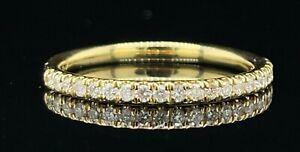 Hübsche Diamant Band 18ct 0.25 Karat Gelbgold