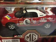 Corgi 1/18 Scale 46703 MG MGF 1.8i VVC Closed top Rover Team Spirit Diecast car