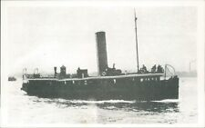 Postcard shipping Mersey ferry Bidston I Friends of the Ferries card