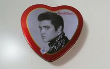 Elvis Presley - Russel Stover Valentine Candy Heart Shaped Tin - 2000