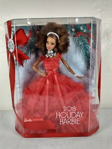 2018 Holiday Barbie Signature Doll Nikki African American 30th Anniversary