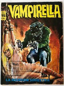 VAMPIRELLA N° 15 HORROR ARGENTINA EDITORIAL MAZZONE 1972